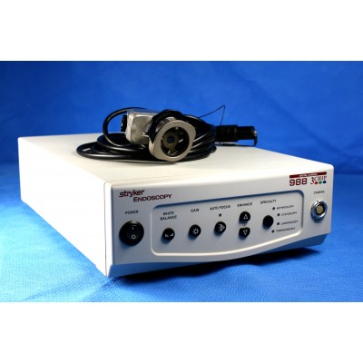Stryker 988 3 Chip Medical Video Camera, With Camera Head and Coupler